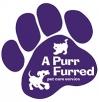 A Purrfurred Pet Care Service Logo