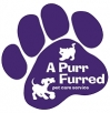 A Purrfurred Pet Care Service Logo